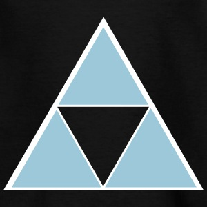Hipster Triangle Skjorter - T-skjorte for barn
