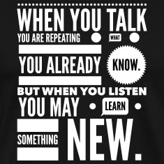 listen to learn T-Shirts