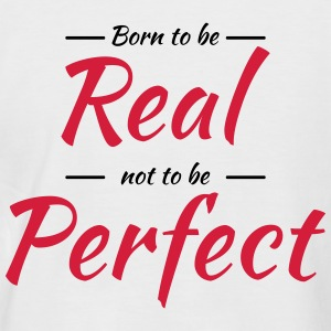 Born to be real Tee shirts - T-shirt baseball manches courtes Homme