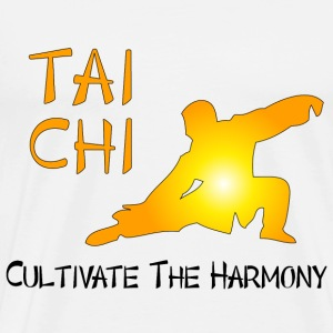 Tai Chi - Cultivate The Harmony T-Shirts - Men's Premium T-Shirt