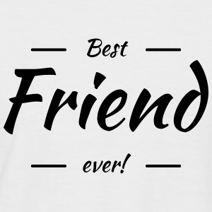 Best friend ever Tee shirts - T-shirt baseball manches courtes Homme