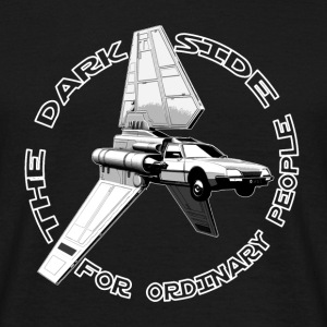 shuttle cx ordinary black T-Shirts - Men's T-Shirt