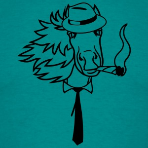 hat hat cigaret bånd hermann cigar face hoved smuk T-shirts - Herre-T-shirt