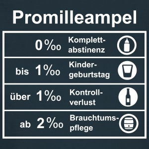 Promilleampel T-Shirts - Frauen T-Shirt