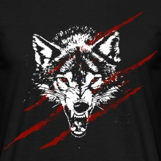Angry wolf T-Shirts