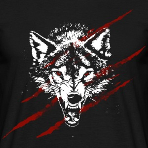 Angry wolf T-Shirts - Men's T-Shirt