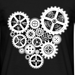 steampunk heart T-Shirts - Men's T-Shirt