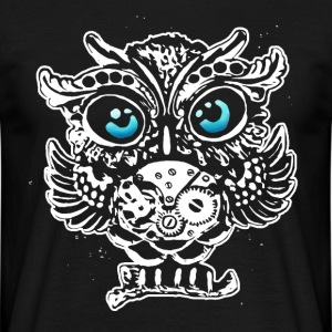steampunk owl T-Shirts - Men's T-Shirt