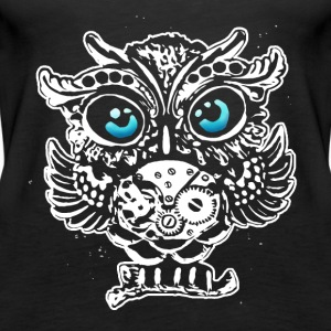 steampunk owl Tops - Women's Premium Tank Top
