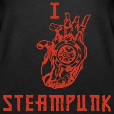 I LOVE STEAMPUNK  Tops