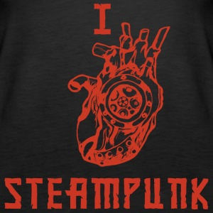 I LOVE STEAMPUNK  Tops - Frauen Premium Tank Top