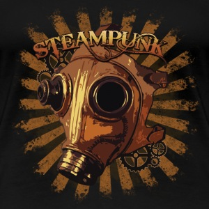Steampunk mask T-Shirts - Frauen Premium T-Shirt