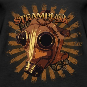 Steampunk mask - Tank top damski Premium