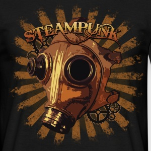 Steampunk mask Tee shirts - T-shirt Homme