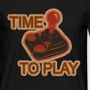 TIME TO PLAY T-Shirts - Men's T-Shirt