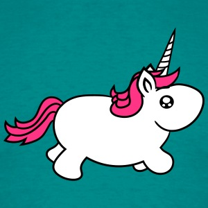 unicorn unicorn little big fat sweet cute baby pon T-Shirts - Men's T-Shirt