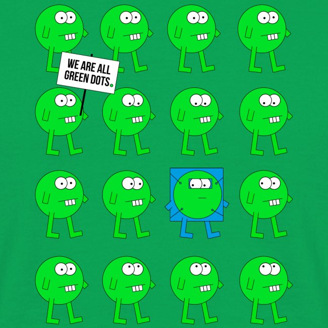 We are all green dots!