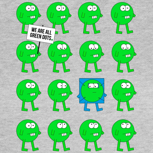 We are all green dots! - Girls