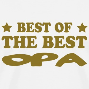 Best of the best opa T-shirts - Mannen Premium T-shirt