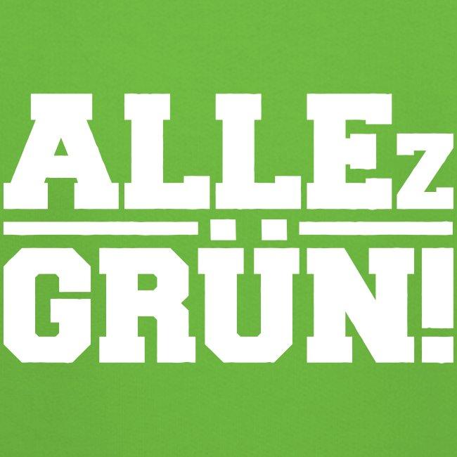 ALLEz GRÜN! - Kinder Premium Kapuzenpullover