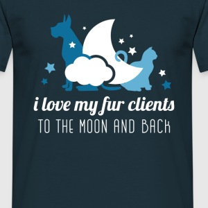Vet-love my clients T-Shirts - Men's T-Shirt