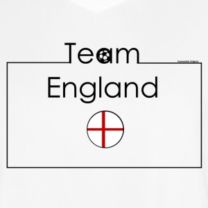 Jersey Team England I Frameshirts - Men's Football Jersey