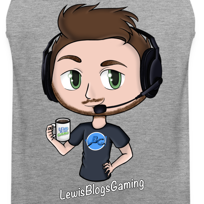Men's LewisBlogsGaming Vest!