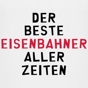 Eisenbahner Eisenbahnerin Railteam Zug Transport T-Shirts - Teenager Premium T-Shirt