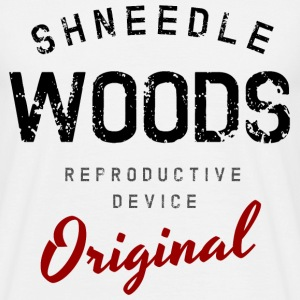Schneedle Woods  T-Shirts - Men's T-Shirt