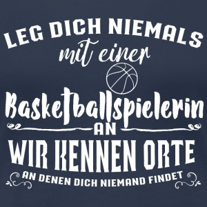Ldn Basketballspielerin T-Shirts - Frauen Premium T-Shirt