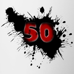 50th birthday Mugs & Drinkware - Contrasting Mug