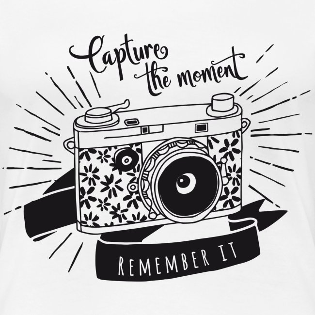 Tee-shirt Capture the Moment