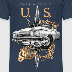 us cars & spirit T-Shirts - Kinder Premium T-Shirt