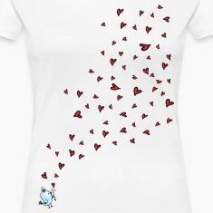 Love is in the air Women's Premium T-Shirt