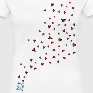 Love is in the air Women's Premium T-Shirt - Women's Premium T-Shirt