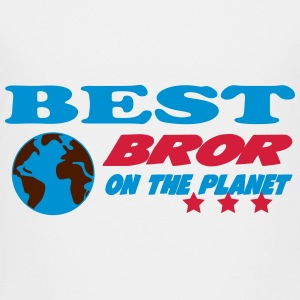 Best bror on the planet Shirts - Teenage Premium T-Shirt