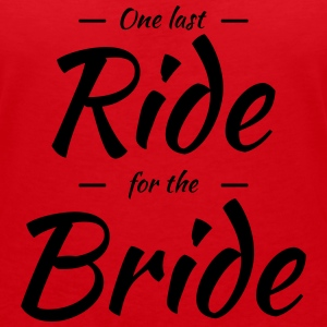 One last ride for the bride T-Shirts - Women's V-Neck T-Shirt
