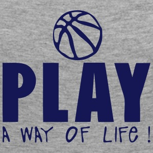 basketball play way life quote Long Sleeve Shirts - Women's Premium Longsleeve Shirt