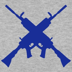 machine gun 7042 Hoodies & Sweatshirts - Men's Sweatshirt