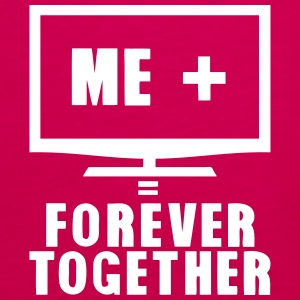 tv television tele forever together Tops - Frauen Premium Tank Top