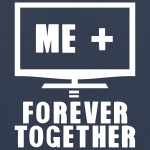 tv television tele forever together Sportbekleidung - Männer Premium Tank Top