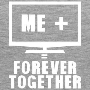 tv television forever together quote Long Sleeve Shirts - Women's Premium Longsleeve Shirt