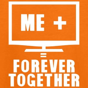 tv television forever together quote Shirts - Teenage Premium T-Shirt
