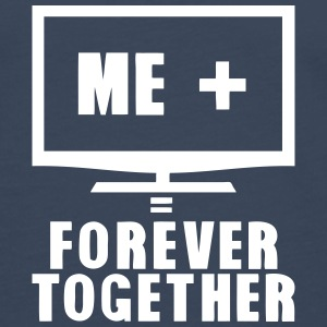 tv television forever together quote Long sleeve shirts - Men's Premium Longsleeve Shirt