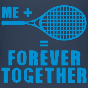 racket tennis forever together quote Shirts - Kids' Premium T-Shirt