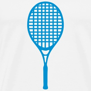 Tennis racket 604 T-Shirts - Men's Premium T-Shirt