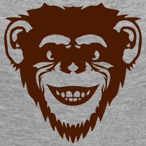 Chimpanzee monkey 504 Long Sleeve Shirts - Women's Premium Longsleeve Shirt