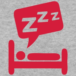 Sleeping bubble zzz icon bed 404 Hoodies & Sweatshirts - Men's Sweatshirt