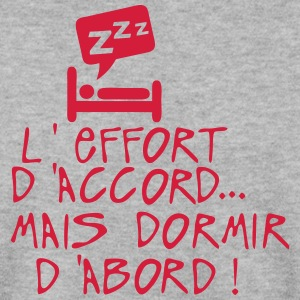 effort accord dormir abord citation lit Sweat-shirts - Sweat-shirt Homme