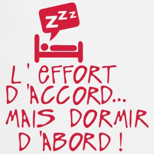 effort accord dormir abord citation lit Tabliers - Tablier de cuisine